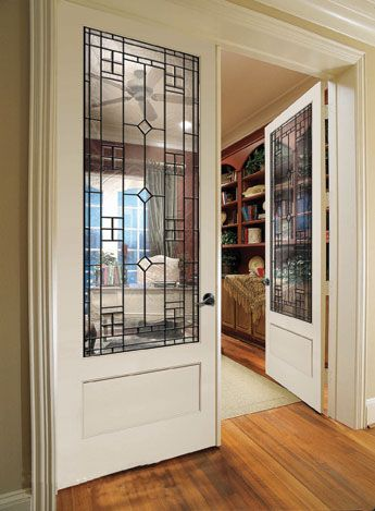 Great option instead of standard French doors.