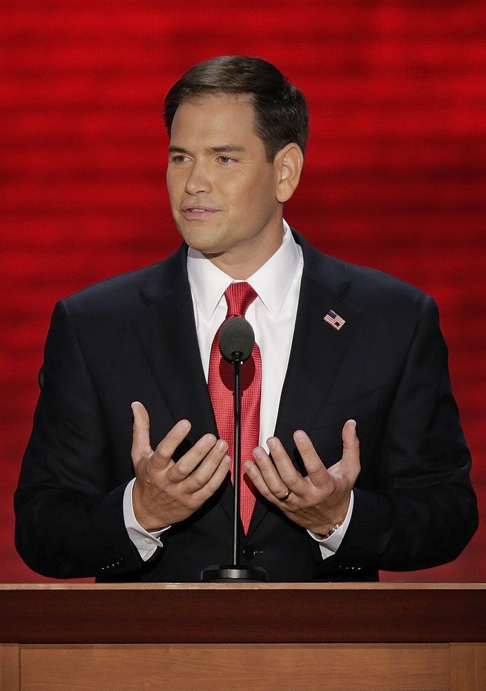 Marco Rubio Attempts To Link Climate Change To Abortion. Leaving out the other scientific fact when life begins is NOT IMPORTANT WHEN IT IS INSIDE SOMEONE ELSE'S BODY.