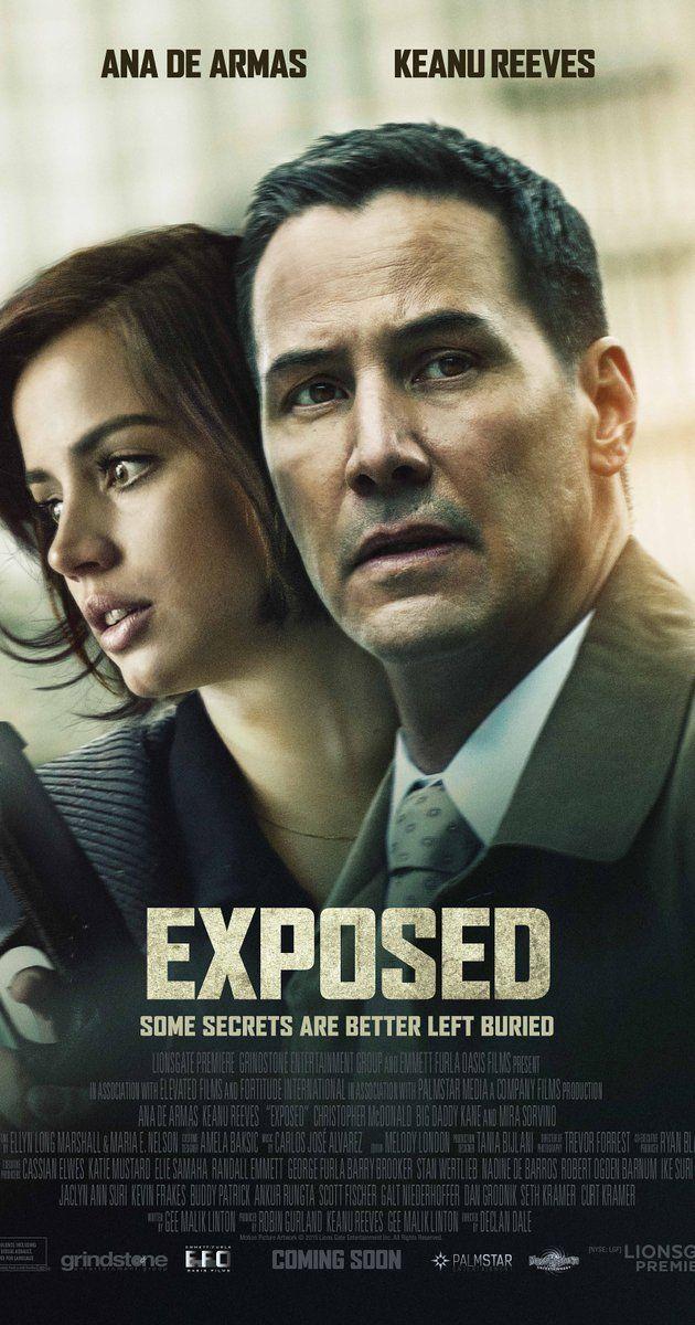 """""""Exposed"""" / """"La hija de Dios"""" (2016): Creo que es la peor película que he visto de Keanu Reeves..."""