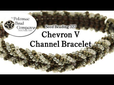 Make a Chevron V Channel Bracelet - YouTube
