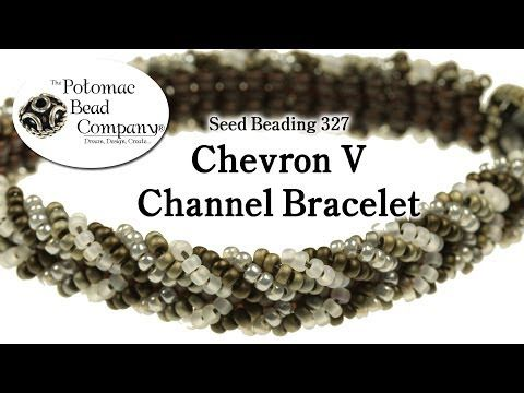 Make a Chevron V Channel Bracelet - YouTube