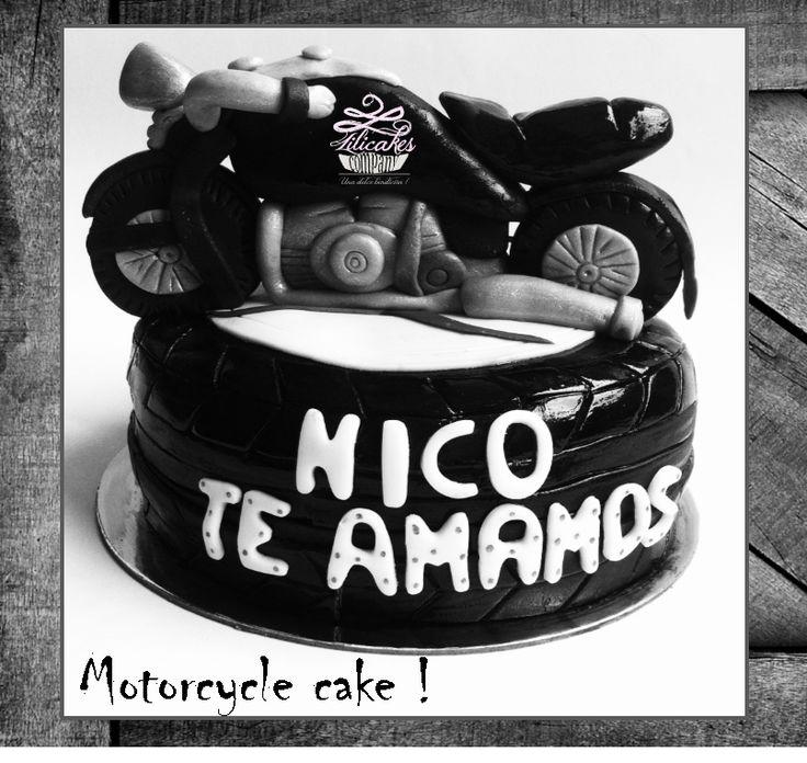 Motorcycle Cake Torta de Moto Ponque de Moto