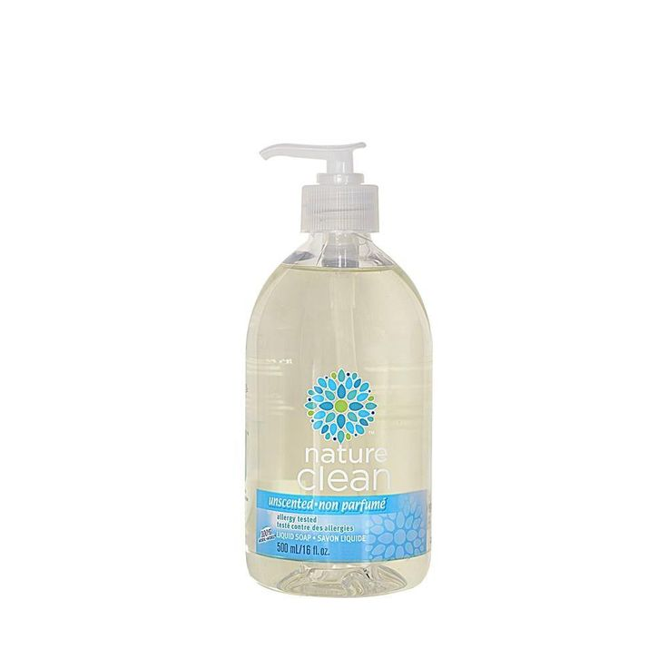 Nature Clean 16 8 Oz Unscented Liquid Hand Soap Liquid Hand