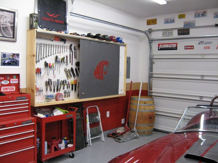 Pegboard Storage For Garages | pegboard cover up - The ...