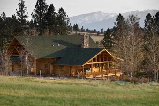 17 best images about places properties regions on for Montana ranch house