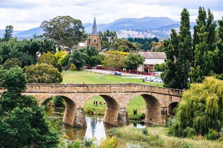A Tasmania Roadtrip - Richmond, Tasmania. #travel #australia #tasmania / / / / / Check out more travel photos and blog posts on my travel blog, frugalfrolicker.com