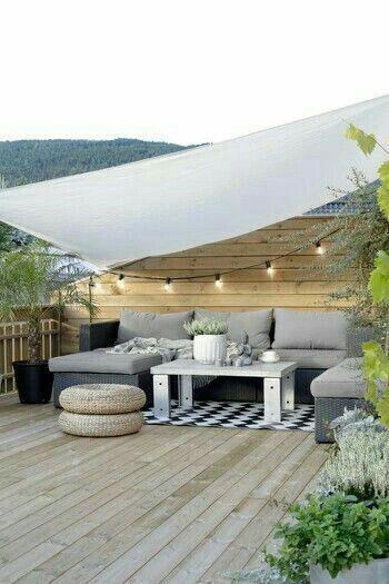 Tuin inspiratie voor een gezellige loungehoek