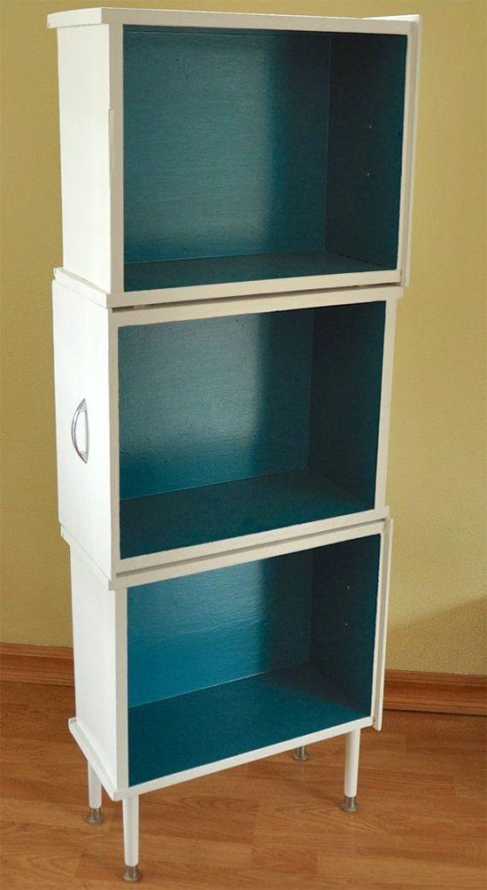 estante de gaveta