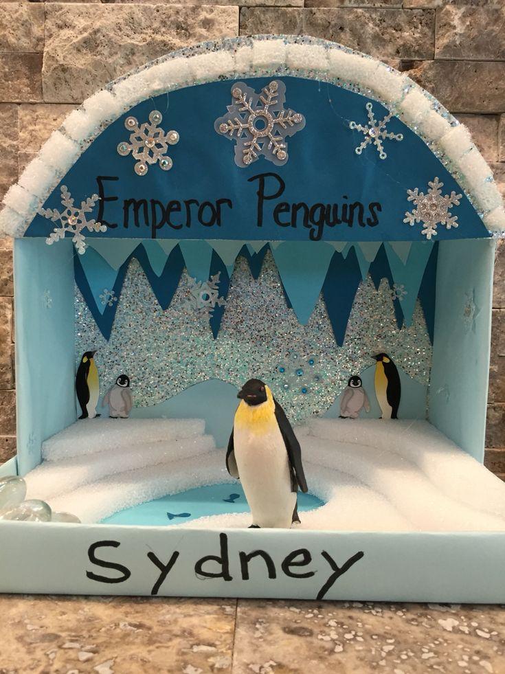 Syd's Emperor Penguin Diorama
