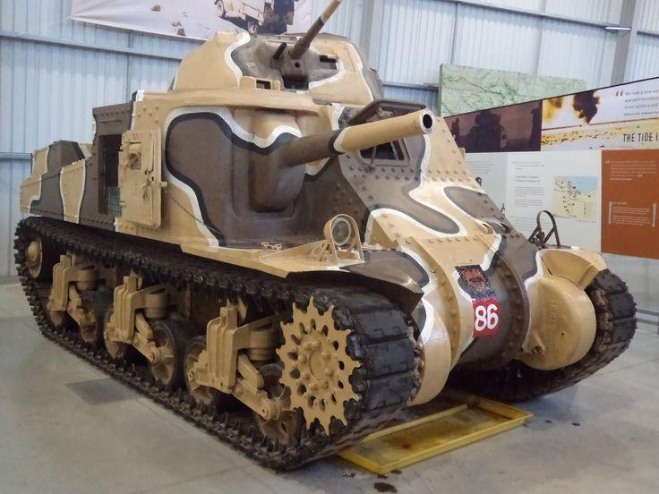 US Grant M3 Tank Museum Bovington