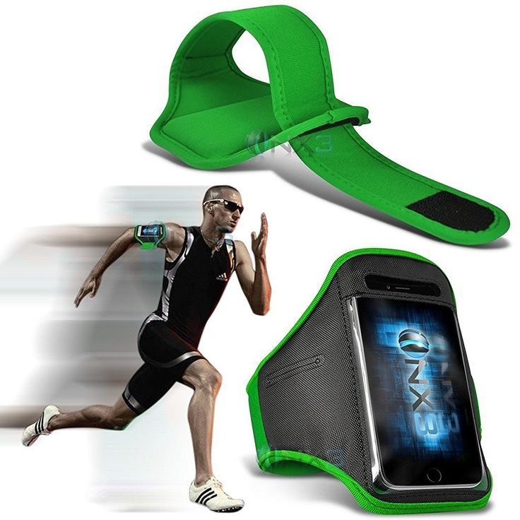 ONX3 Kodak Ektra Case (Green) Case Cover Adjustable Fitness Running Jogging Cycling Gym Armband Holder. Strong sticky back tape: We use the strong sticky back tape to make sure the armband do not fall off when you are exercising. The crystal clear protective film is soft, sensitive, so you can touch and control your cell phone when you take exercises, and it can also keep your screen away from scratches. Cool and Comfortable: Lightweight, flexible neoprene stays dry and comfortable during...