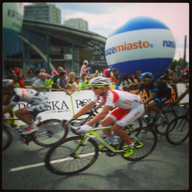 Found on #Starpin #TdP2013 #cycling #katowice