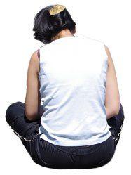 People cutouts: Woman Sitting 0006 cutout download