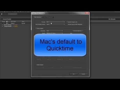▶ AE Basics 58: Export 4 - Output Modules - YouTube