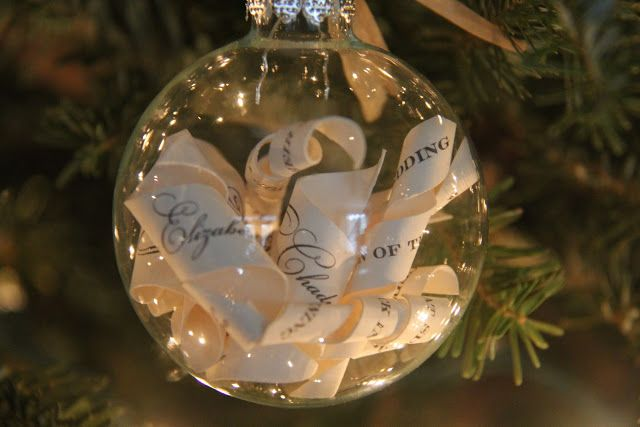 diy we love wedding invitation ornament bridalguide