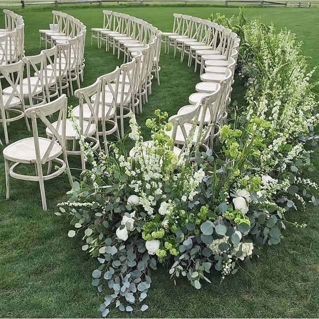 Ideas For A Small Wedding Ceremony: 2318 Best Images About OUTDOOR WEDDING CEREMONY, AISLE