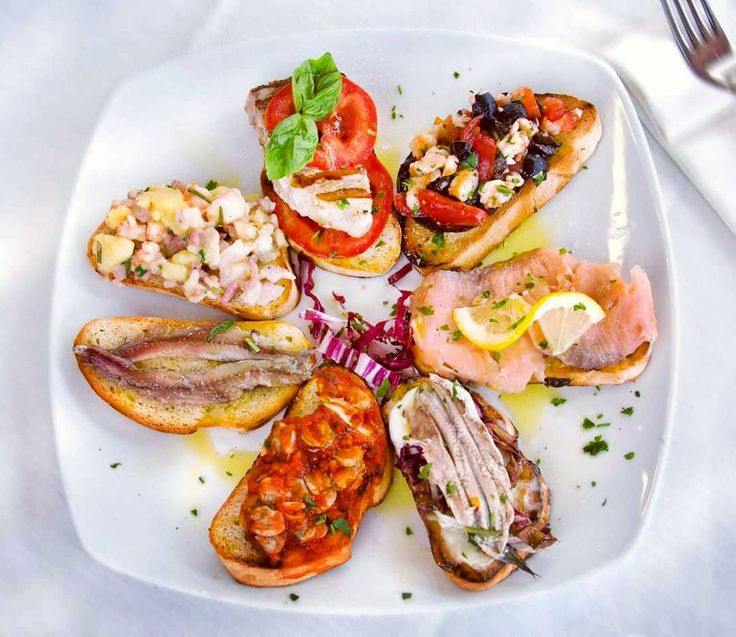156 best antipasti di pesce images on pinterest for Antipasti di pesce