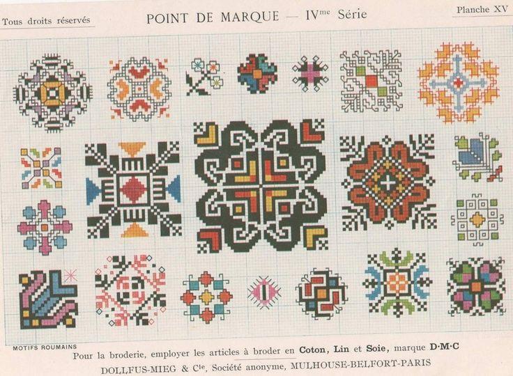 Ancien Dmc - Point de Marque - 4eme Série - Albums d'antan