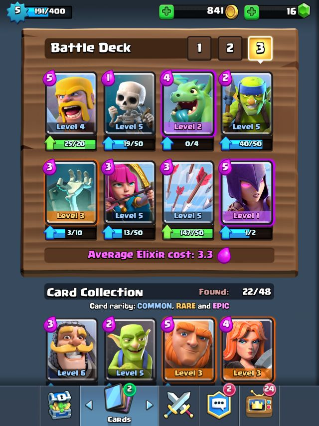 17 best images about clash royale decks on pinterest for Clash royale deck molosse