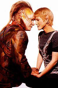 Neelix and Kes - Star Trek Voyager