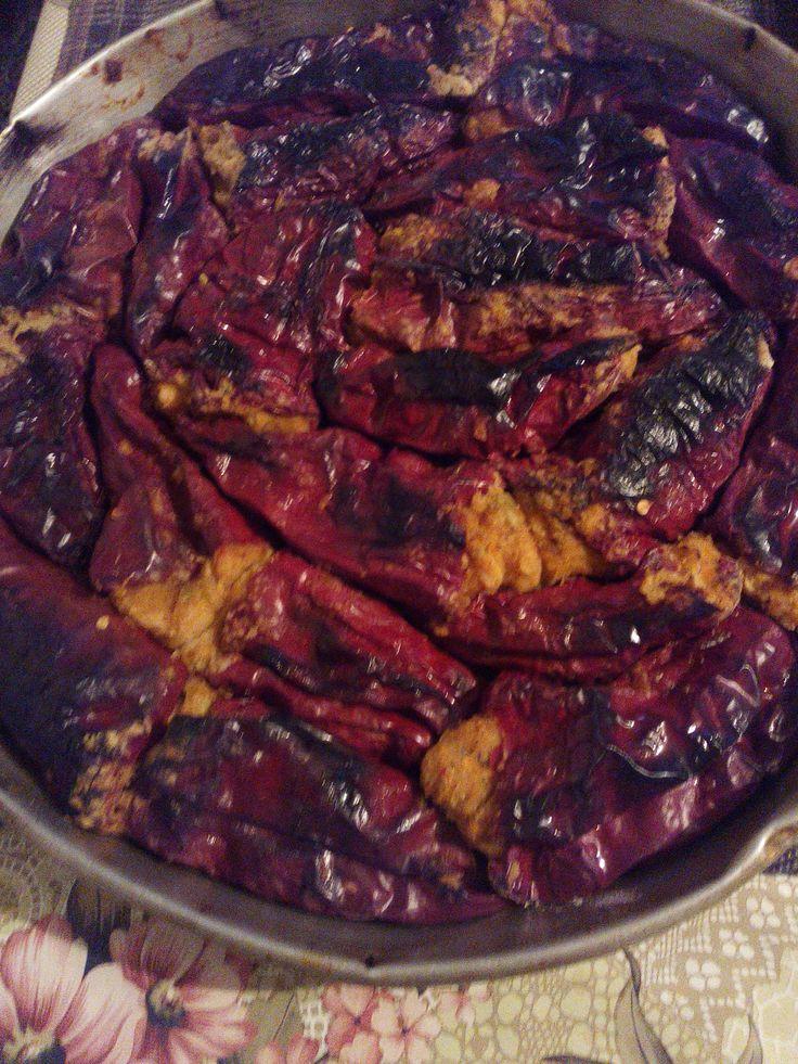 Ξερές πιπεριές γεμιστές με φασόλια (Βουλγαρική συνταγή). Δέν έχετε ξαναφάει τόσο ΝΟΣΤΙΜΟ φαγητό...