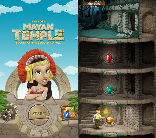 Furtive of the Golden Turtle as Puzzle Game App – iPhone5 App