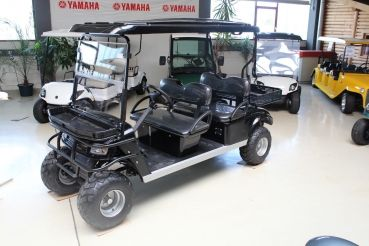 Beckers Golf Cart Handel -   - Ligier - Yamaha - WSM Mitsubishi - E-Z-GO - Club Car - WSM Mitsubishi RTX600 Viersitzer NEUFAHRZEUG Elektrofahrzeug / Elektrotransporter
