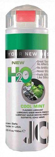System Jo H2O Mint - Cool Mint - 150 ml fra SystemJO - Sexlegetøj leveret for blot 29 kr. - 4ushop.dk - Vandbaseret glidecreme med mint smag, som har alle fordelene fra System JO personlige glidecremer. Samme følelse og viskositet, men alligevel indeholder den ingen olie, voks eller silikone.