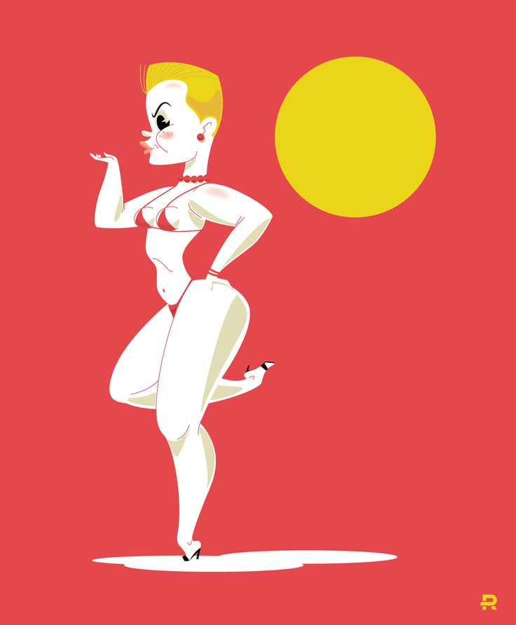 Pin Up Vectors on Behance