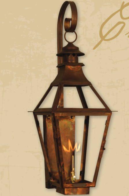 Copper lantern pendant light copper light fixture rustic outdoor lantern antique vintage modern gas or electric lanterns chesapeake