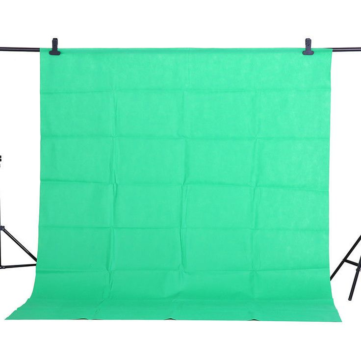Chromakey Green Screen Muslin Backdrop Background for Studio #Herohoang #SolidColor