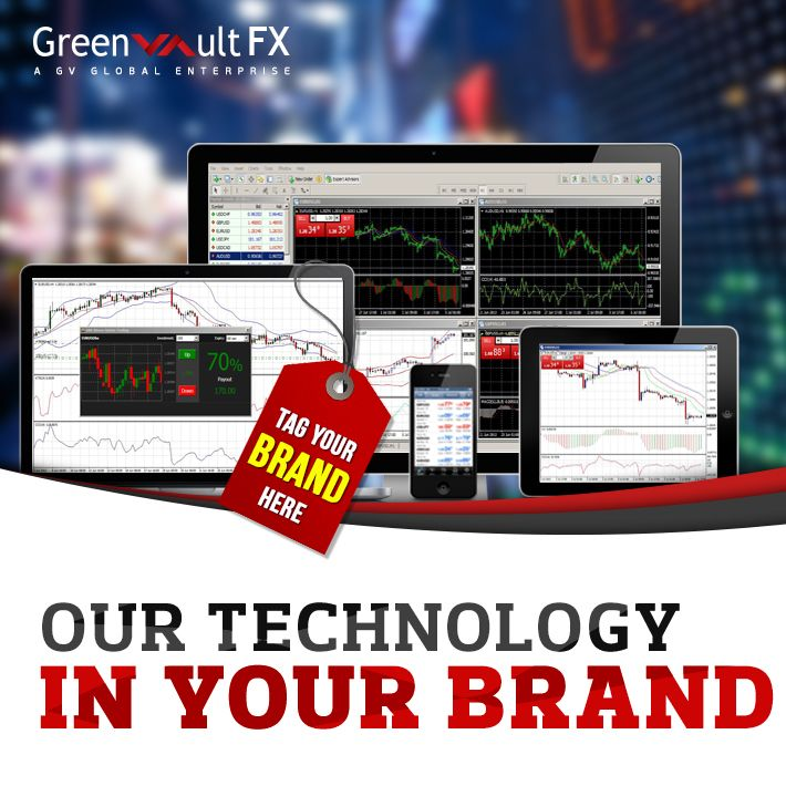 Greenvault #FX provides its platform support to the white label partners for the expansion of their business under their own brand name.  Become a partner with us and grow your business today!!