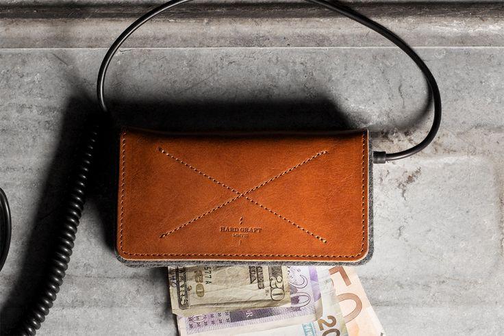 hard graft iPhone 5 Fold Wallet / Heritage