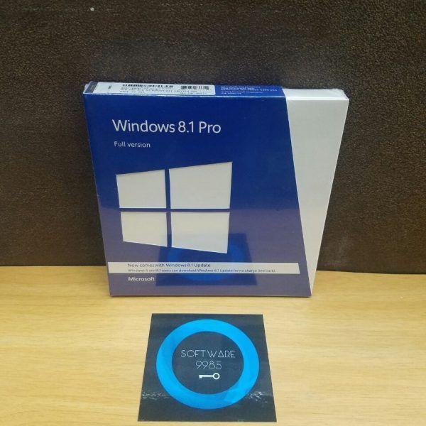 正規の WINDOWS 8.1 PRO/専門 32 ・ 64 ビット (フルバージョン) ボックス