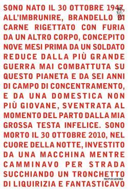 Gli increati di Antonio Moresco, copertina di Susanna Tosatti