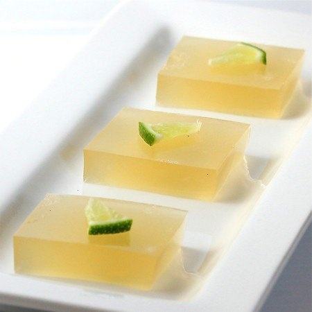 Margarita Jello Shots - I don't even like margaritas, but this is such a chic, grown up jello shot!
