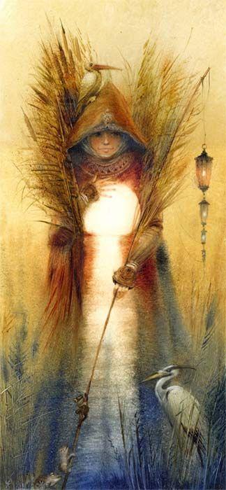 Marsh angel