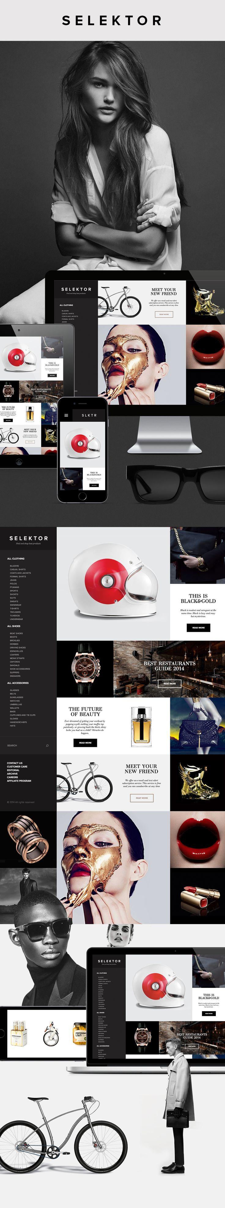 SLKTR — Naming, Logotype & Website on Behance