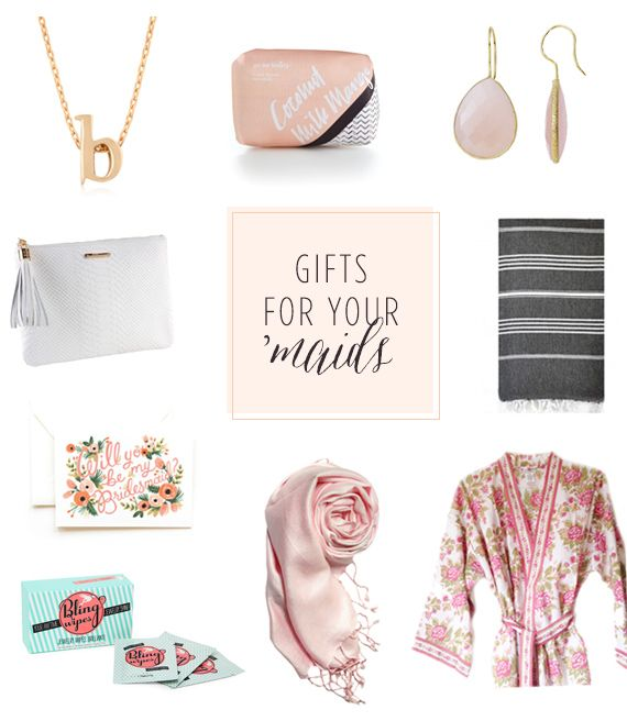 Modern Bridesmaid Gift Ideas Unique Bridesmaid Gifts