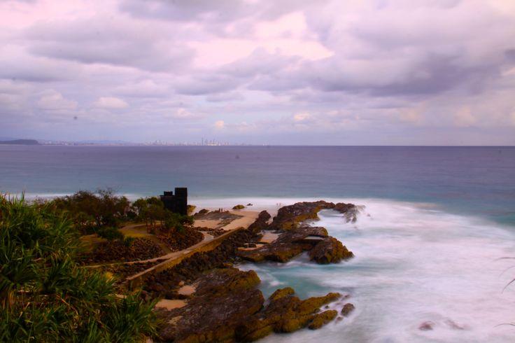 Snapper Rocks. Queensland, Australia.