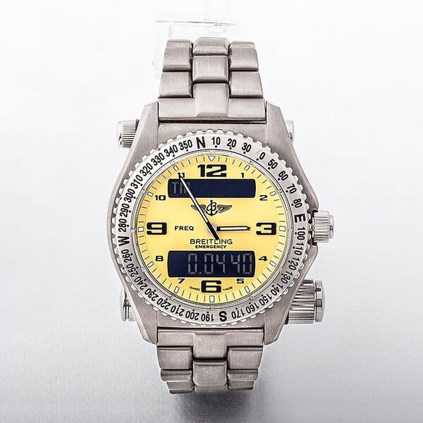 Breitling Emergency Pro with Yellow Dial