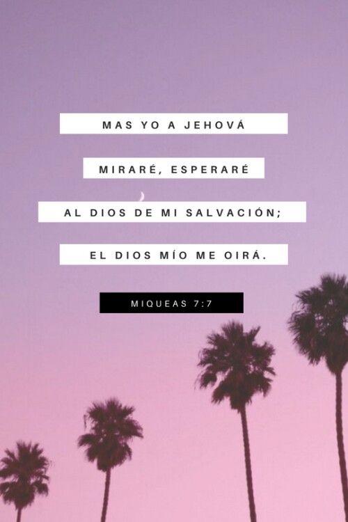Mientras mi fe, mi obediencia y mi oración no falten, Él proveerá, me escuchará y veré su mano obrar en todo...