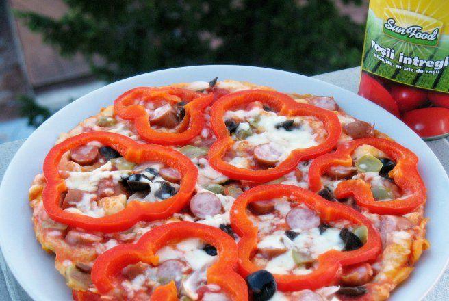 Retete Culinare - Pizza rapida la tigaie