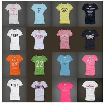 New High Quality Brand T shirt Hollistic Women100% Cotton O-neck Short Sleeve T shirt Brand Ladies T-shirtSML http://tinyurl.com/ngzy4ue #womenfashion #top #tshirt #fashiontshirt #shortsleeve