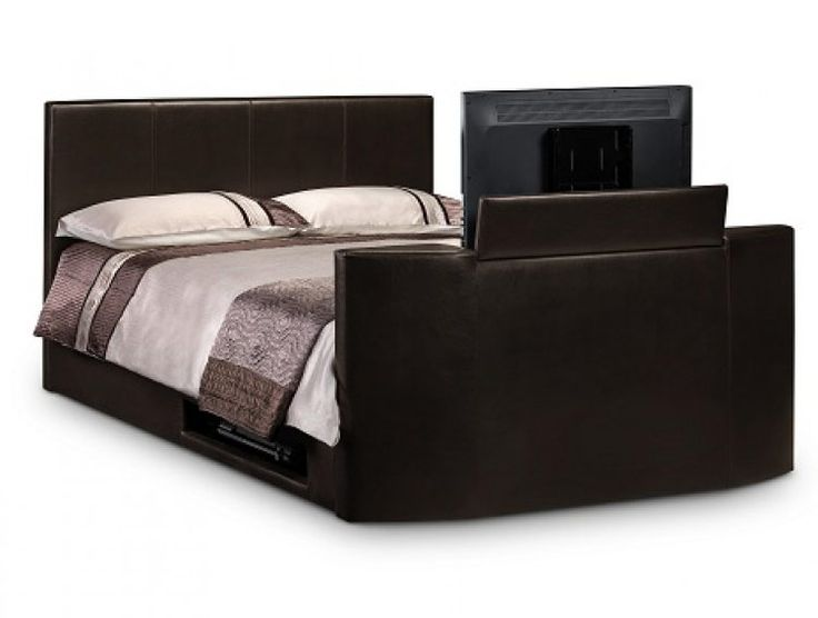 Awesome Julian Bowen Optika 4FT 6 Double TV Bed