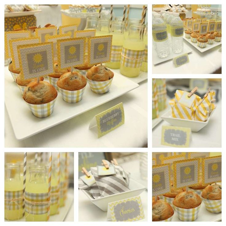 You Are My Sunshine First Birthday | CatchMyParty.com
