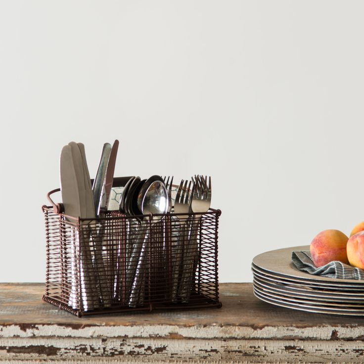 Wire Utensil Caddy - Magnolia Market | Chip & Joanna Gaines