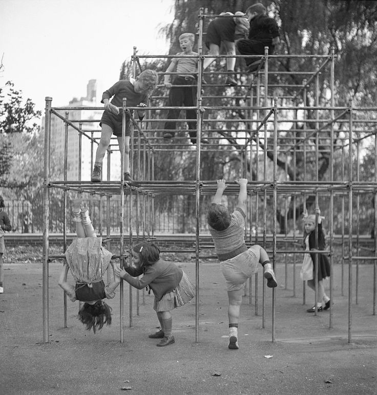The Playgrounds of Central Park: A Brief History  from Playscapes