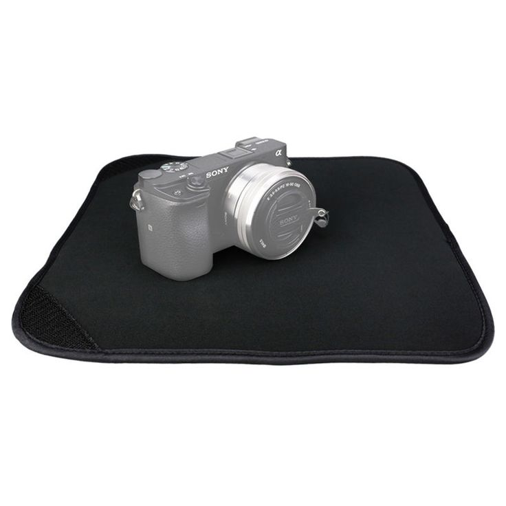 JJC 30x30cm Neoprene Velcro Cloth Cover Wrap Pouch for lens cameras filters etc…