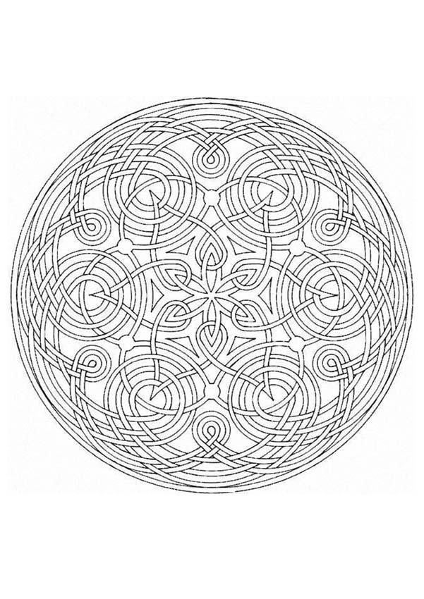 Free mandala coloring pages for stress relief and mindfulness practice